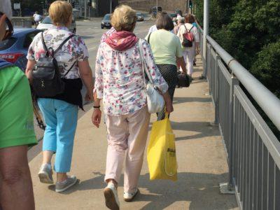 Gehend unterwegs - mobil bis ins hohe Alter