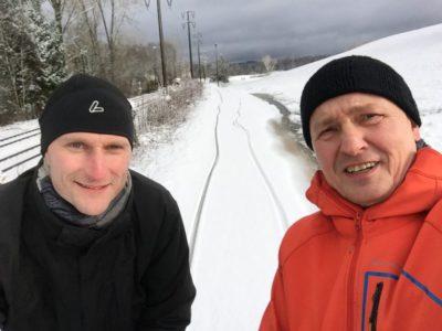 Thiemo Graf und Uwe Petry